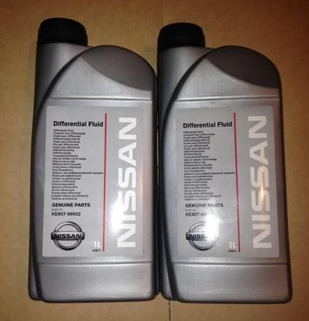 Nissan 370z Genuine Nissan Differential Fluid Oil  2 x 1 litre
